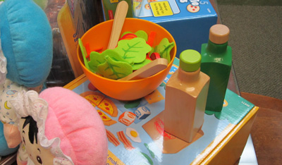fabric food for dramatic play