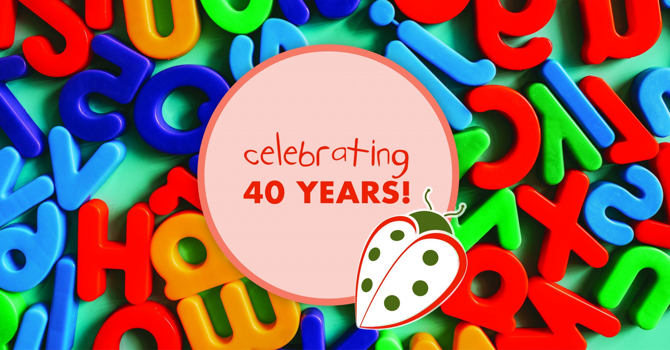 Picture representing Ladybug's 40th anniversary.